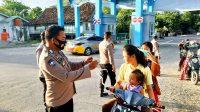 Polsek Bontobahari Lakukan Operasi Yustisi di Kawasan Pantai Bira