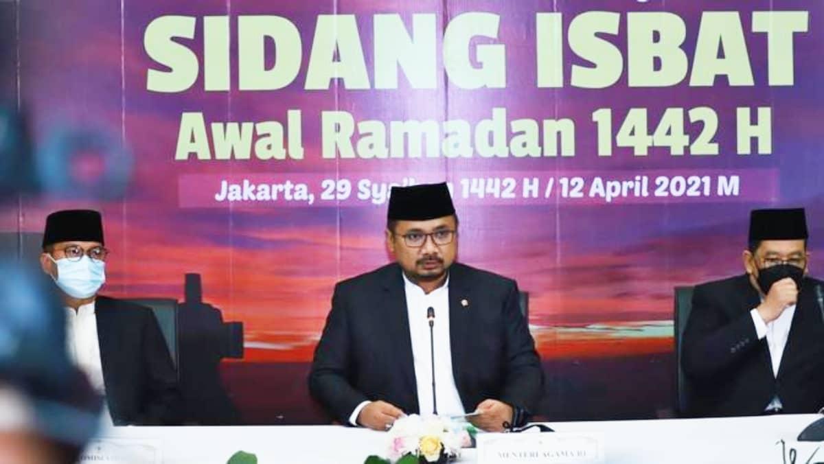 Pemerintah RI tetapkan 1 Ramadhan 1442 H jatuh pada Selasa 13 April 2021