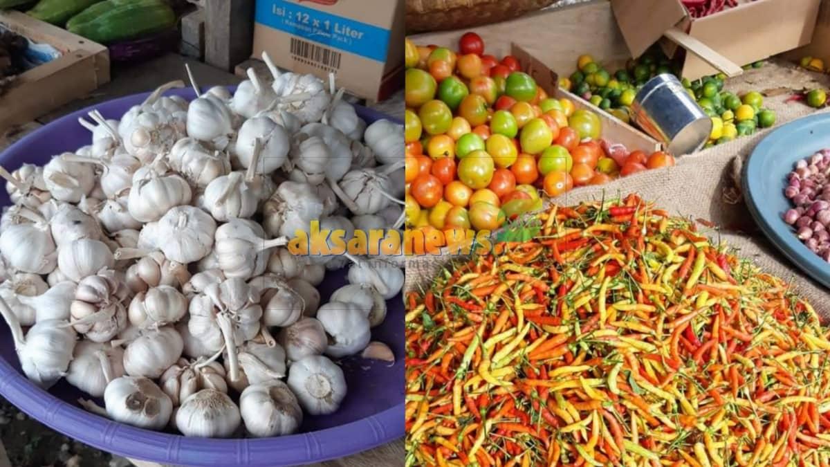 Awal Ramadhan, harga komoditi pangan di Boltim stabil