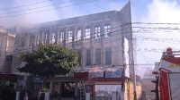 Balai wartawan yang dikelola PWI Sulut terbakar