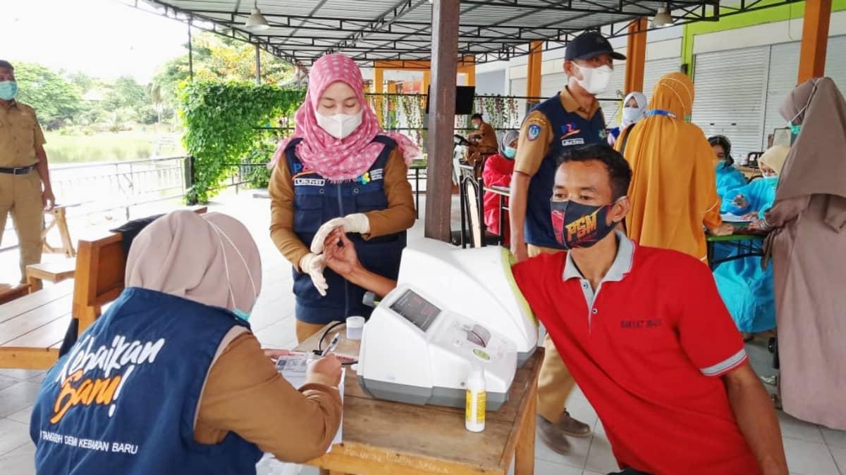 Pemerintah Bantaeng lakukan skrining kesehatan di perbatasan Bulukumba